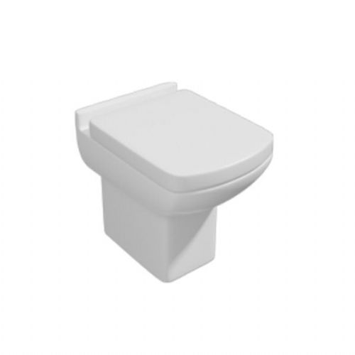 Kartell Pure Back To Wall - Soft Close Seat - White